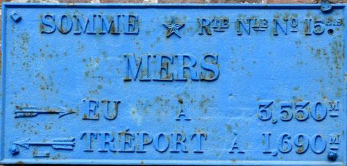 Mers-les-Bains- Route d'Eu