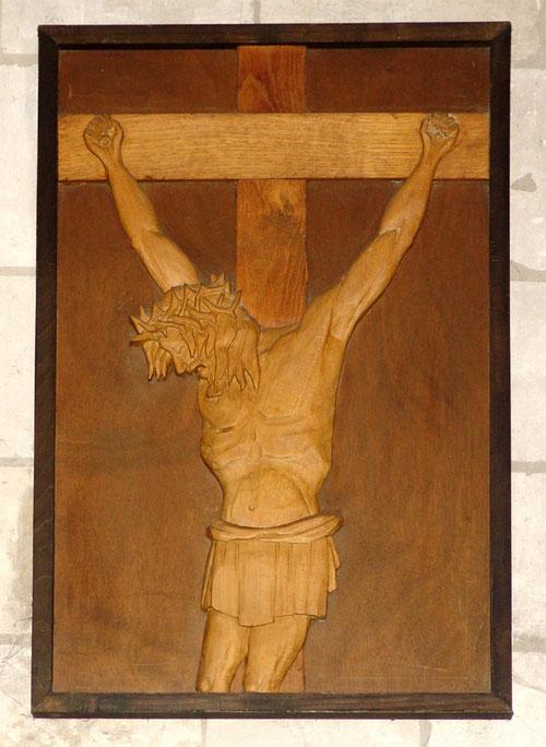 Abbeville- Eglise du Saint-Sépulcre: une oeuvre de Metty Wilmouth