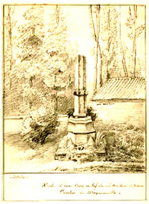 Dessin de Gillard, vers 1860
