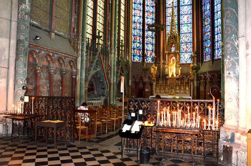 Vue d'ensemble de la chapelle axiale