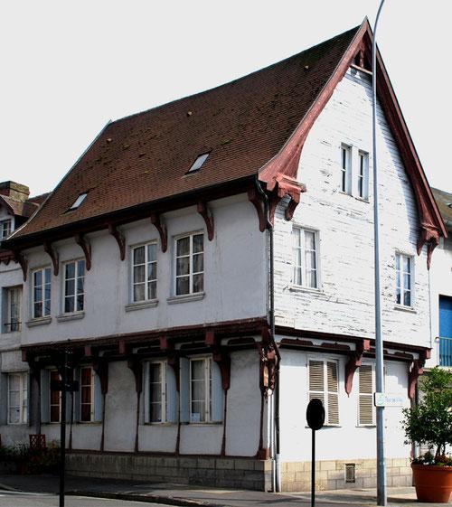 Abbeville- Angle rue des Teinturiers et rue des Capucins