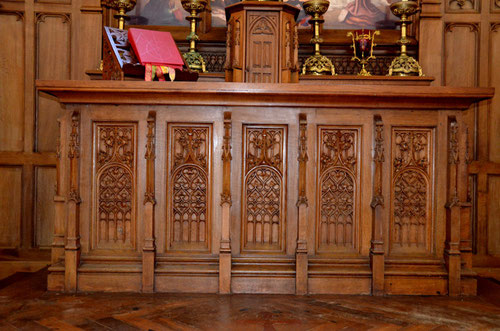 Le coffre de l'autel