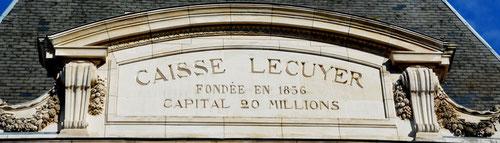 Amiens- Rue de la République: l'ancêtre de la Caisse d'Epargne