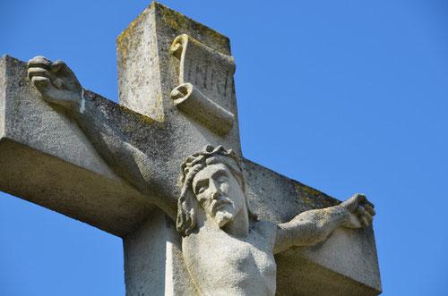 Le christ du calvaire de Dury