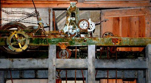 Le mécanisme de l'horloge
