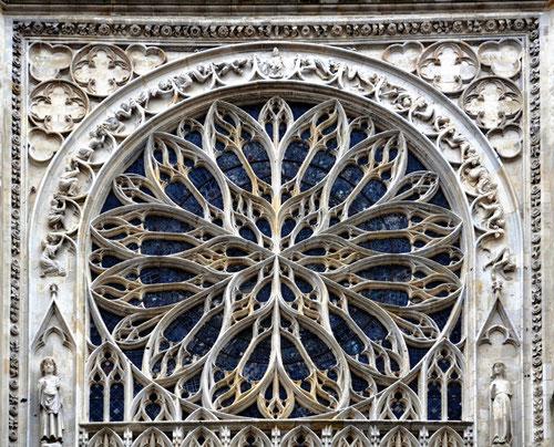 Rosace du transept sud