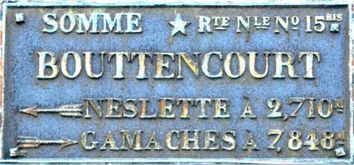 Bouttencourt- A la limite de la Somme et de la Seine-Maritime