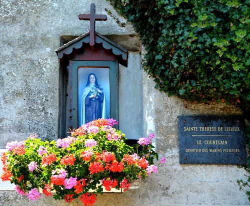 Saint-Valery-sur-Somme- Quartier du Courtgain, près du Calvaire des Marins