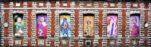 Les fenêtres du Beffroi de Doullens- Janvier 2013