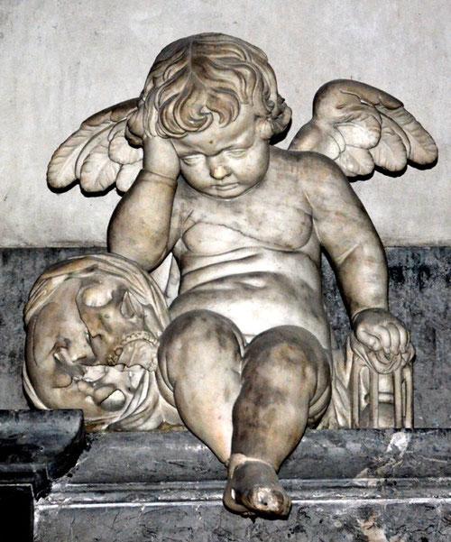 L'ange pleureur de Nicolas Blasset- Cathédrale Notre-Dame d'Amiens