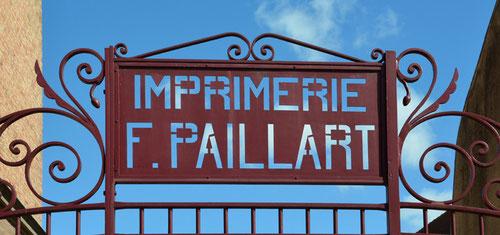 Imprimerie Paillart- 84 chaussée Marcadé à Abbeville