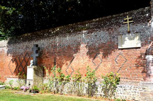 Huppy- Le mur du château