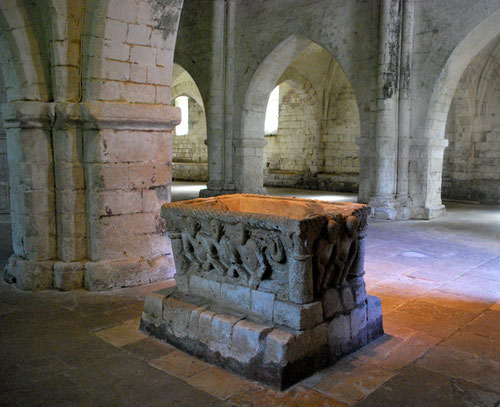 Fonts-Baptismaux de l'Eglise Notre-Dame- Airaines