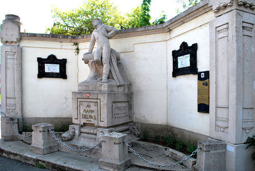 Statue du marin Delpas à Péronne- 1933