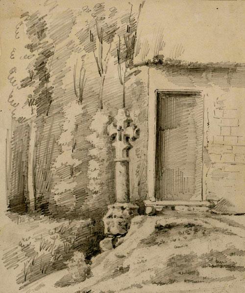 Millencourt-en-Ponthieu- Dessin de L.Gillard. 1865- BM Abbeville