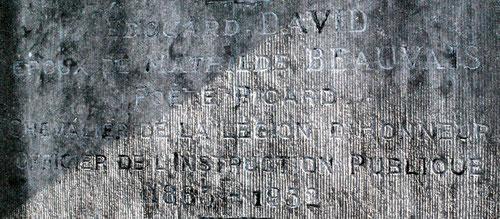 Au cimetière de Saint-Acheul-Amiens