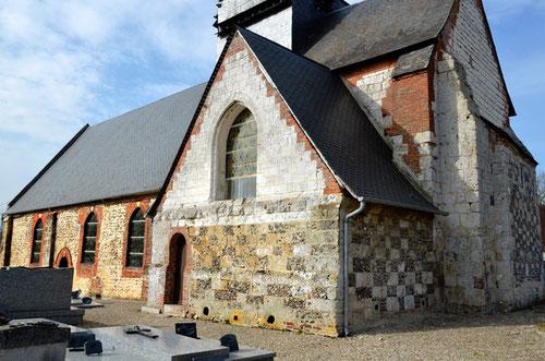 Eglise Saint-Crépin de Maisnières-en-Vimeu