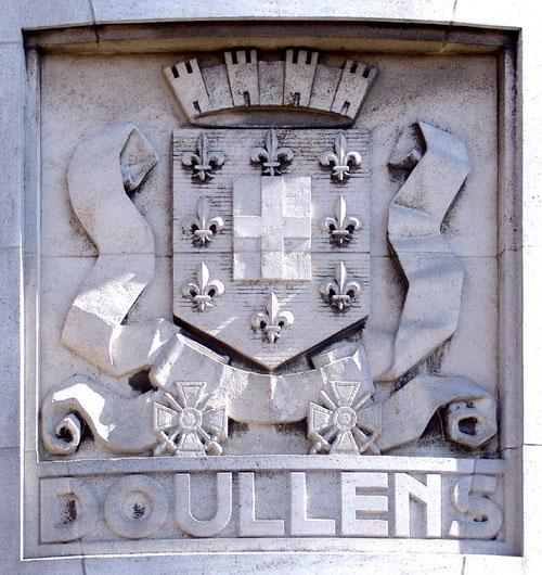 Le blason de Doullens- La Poste