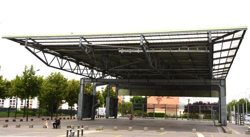 Les halles d'Amiens-Nord