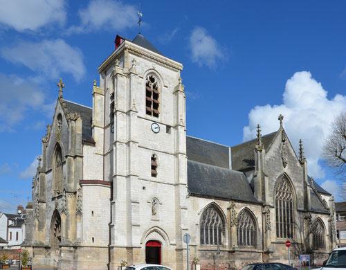 L'église Saint-Sépulcre- Abbeville
