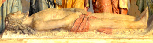 Le Christ avant la Mise au Tombeau- Eglise d'Allery