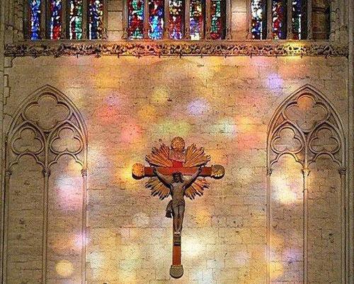 Le Christ du transept Nord