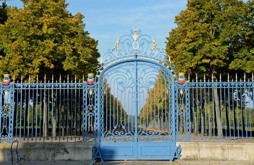 Les grilles de la Hotoie-Amiens