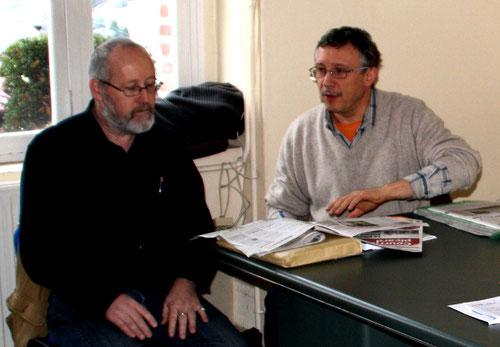 """Jacques Dulphy et Jean-Luc Vigneux, les fondateurs de """"Ch Lanchron"""""""