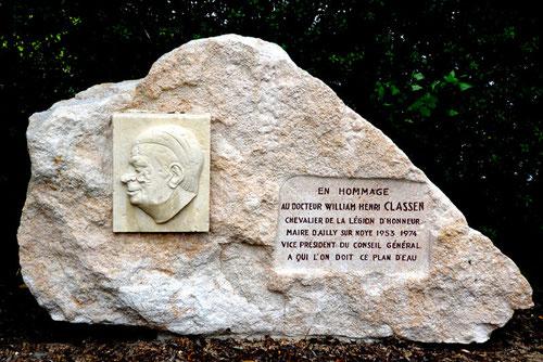 Mémorial du docteur Classen à Ailly-sur-Noye