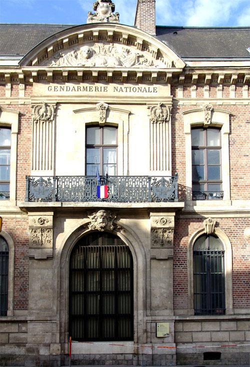 Gendarmerie rue des Jacobins- Amiens