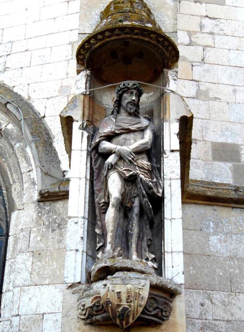 L'Ecce-homo de l'église Saint-Fuscien et Saint-Gentien de Morcourt- Ph: Rémi Godbert