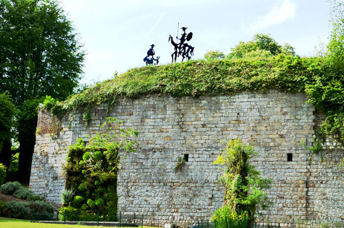 Les remparts de la Citadelle de Doullens