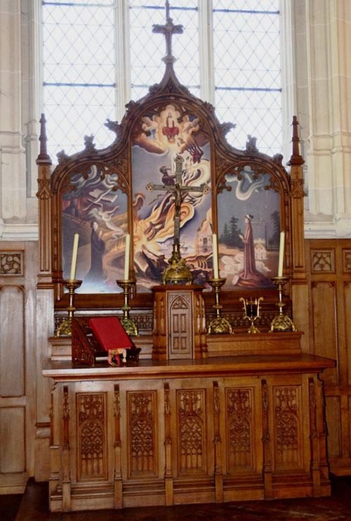 L'autel de la chapelle