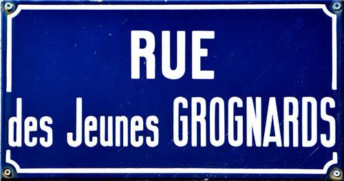 La rue des jeunes grognards à Guerbigny