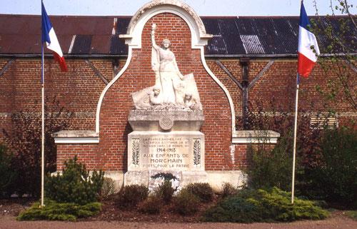 Monument aux Morts de Morchain