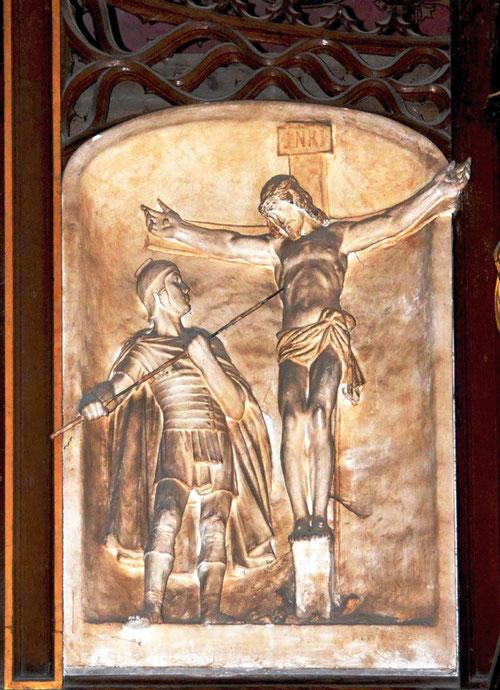 La Crucifixion par Albert Roze- 1930