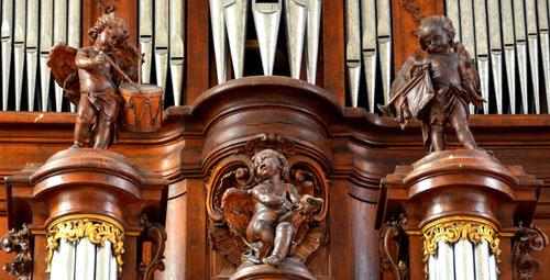 Scultures des orgues de Valloires