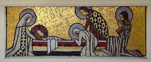 Eglise de Carnoy- Coffre de l'autel