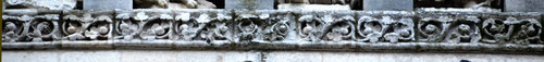 Frise: la flore d'Amiens (détail)