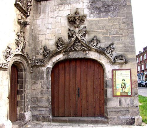 La porte du Beffroi d'Abbeville