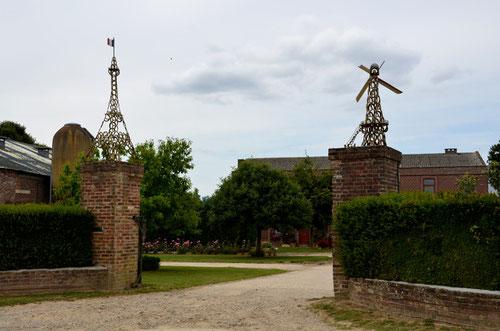 Ferme de Bronfay à Bray-sur-Somme- Ph: Christiane Sellez