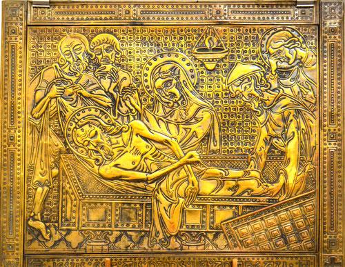 Mise au tombeau de Gérard Ansart