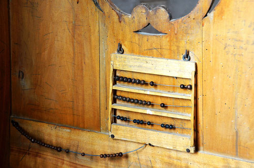 La porte intérieure du confessionnal de Naours