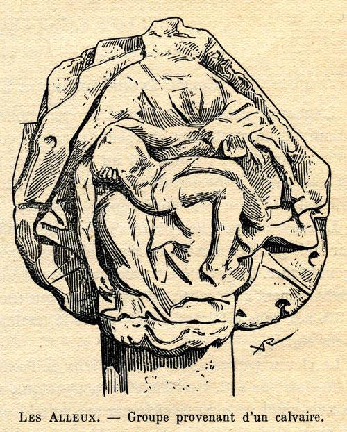 Béhen- Le croisillon des Alleux