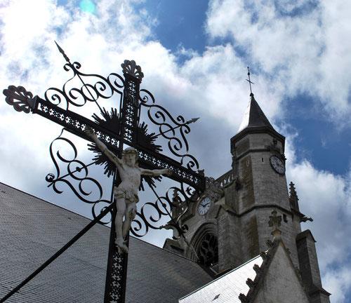 Clocher-Beffroi de l'église de Crécy-en-Ponthieu