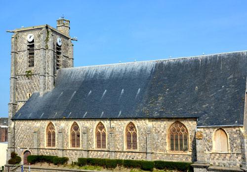 L'église Saint-Pierre d'Ault