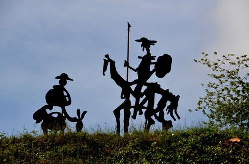 Don Quichotte et Sancho Panza- Citadelle de Doullens