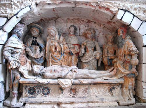 Le Sépulcre- Eglise d'Oust-Marest