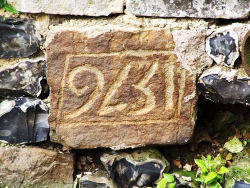 La date de construction de l'église de Franqueville