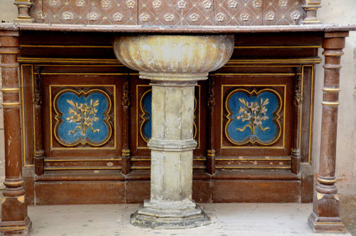 Autel de la chapelle St-Jean-Baptiste- Eglise Saint-Léger de Longpré-les-Amiens